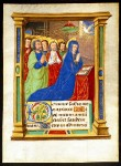 Book of Hours Leaf - The Pentecost, c. 1480-90