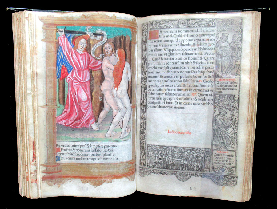 c 1526 Book of Hours and Calendar - 44 Large Miniatures