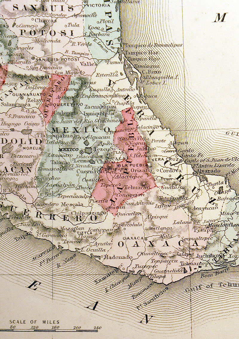 c 1862 ''JOHNSON'S MEXICO''